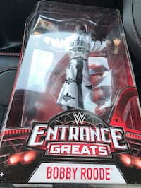 Wwe entrance greats bobby roode new in sealed package brand new  Medford, 02155