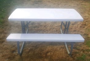 Large Family Size Folding Picnic Table. $75.00 each.. 2 avaliable