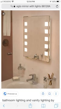 Do modern -NEW Lighted LED vanity mirror , L3B