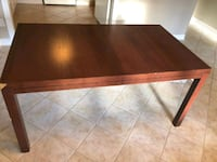 rectangular brown wooden coffee table Whitby, L1R 2X7