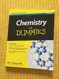 Chemistry For Dummies  Toronto, M5P