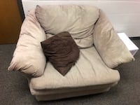 Sofa chair & pillow Prichard, 36613