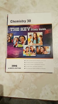 Chemistry 30-1 the key study guide book
