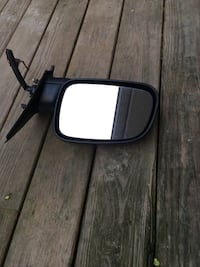 Driver Side black vehicle side mirror from a Jeep Grand Cherokee  Bunker Hill, 25413