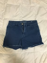 AE blue super stretch shorts, size 14 Belleville, K8P 4R4