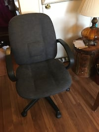black and gray rolling armchair Manassas, 20109