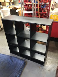Black Storage Desk