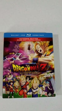 Dragonball Z Battle of the Gods Blu Ray Frederick, 21702