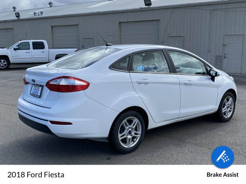 2018 Ford Fiesta SE sedan Oxford White !!! a60083ac-334d-4f54-82cd-91052e88e99b