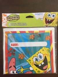 SpongeBob birthday cards,bags and toys Fairfax, 22030