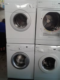 """set washer/dryer whirlpool front load 24"""" تورونتو"""