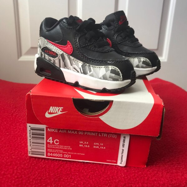 reputable site 5fc5f f3034 Toddler Size 4 Nike Air Max Shoes