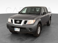 2019 Nissan Frontier Crew Cab pickup SV Pickup 4D 5 ft Gray <br