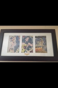 Framed Wonder Woman comic pics  Cambridge, N3H 2Y2