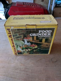 Vintage Kitchen Aid food grinder in original box Columbia, 21044