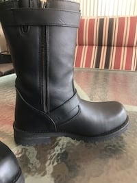 Almost new Leather Motorcycle Boots Bradenton, 34212
