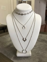 NEW! 4 in 1 Necklace jewelry (#13) Boyds, 20841