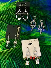 Assorted fashion earrings / Select the style you love / each is priced separately new jewelry Alexandria, 22311