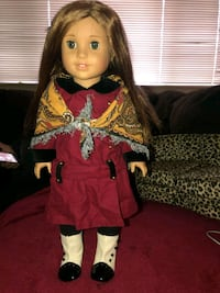 girl in red and black dress doll Essex, 21221