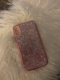Pink IPhone XR case