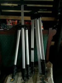 Two aluminum  tripods for one money