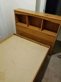 Twin bed frame with storage Mississauga, L5W 1A9