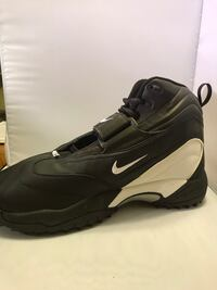 black and gray Nike basketball shoe Los Angeles, 91306