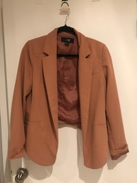 brown button-up jacket suit Barrie, L4M 2A2