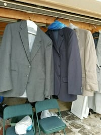 Two suits and 3 Jackets