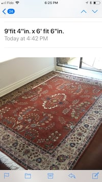 Wool hand made area rugs Vaughan, L4J 8R3