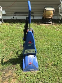 Blue and black bissell upright vacuum cleaner carpet shampooer Louisville, 40272