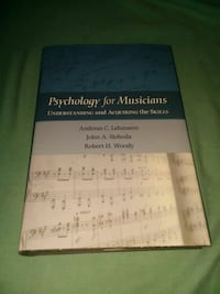 Psychology for musicians  Temple, 76502