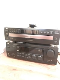 Receiver and five disc CD player Edmonton, T5A 4X2