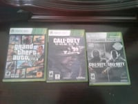 two Xbox 360 game cases Red Deer, T4N 6C1