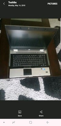 black and gray HP laptop Brampton, L6R 0T1