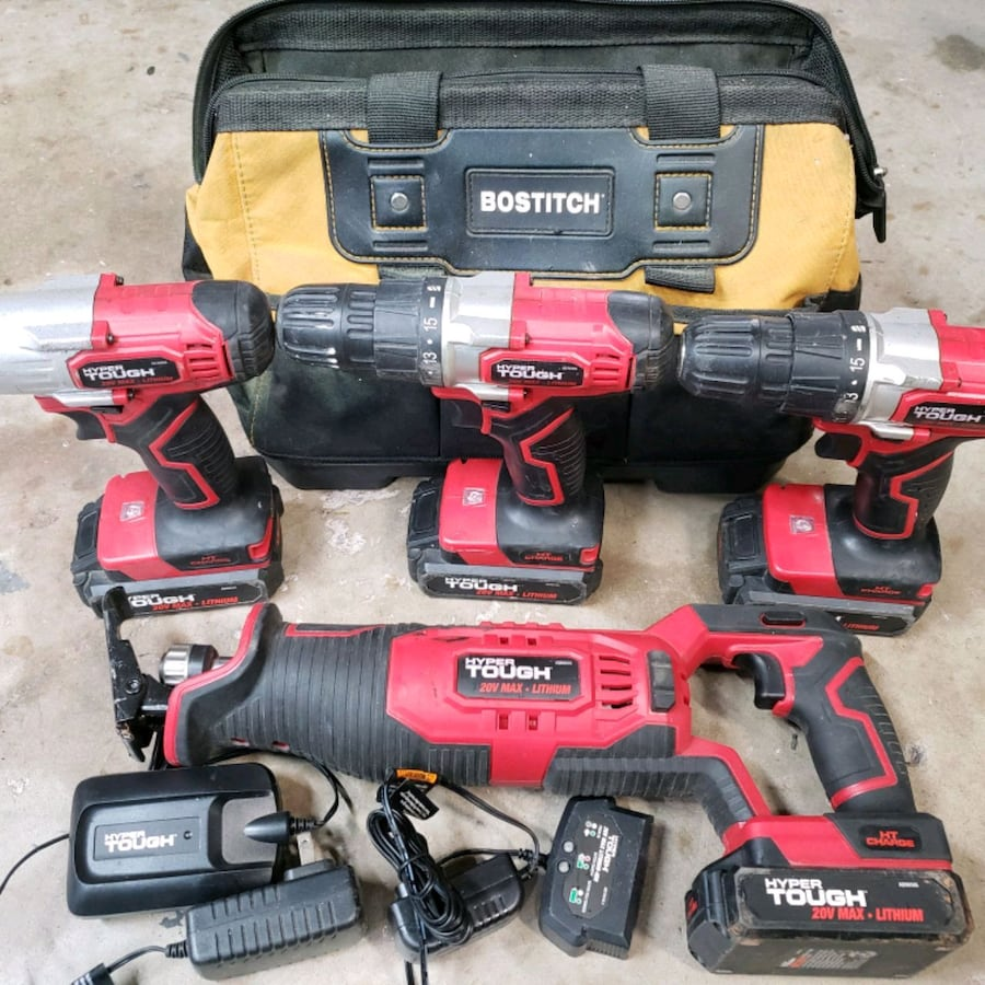 20V Lithium Ion Power Tool Set w/ all Accessories