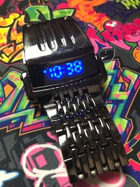 Digital Lamborghini watch Las Vegas, 89143