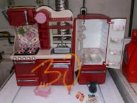 red and black plastic kitchen playset Olney, 20832