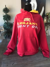 red and white Hollister pullover hoodie Thousand Oaks, 91362