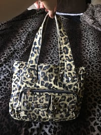 Leopard purse & mini bag Edmonton, T6R 1B4