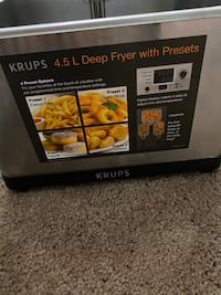 Deep frayer with presets
