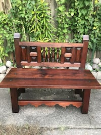 Colonial bench 1974 made in Mexico  Calumet City, 60409