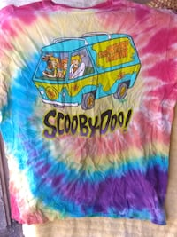 Scooby-Doo tie-dye large t-shirt