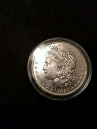 1880 S MORGAN SILVER DOLLAR UNCIRCULATED Tavares, 32778