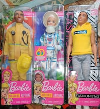 New in box, barbies