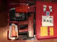 Red hilti dx 450 power tool with box Surrey, V3S 8C2