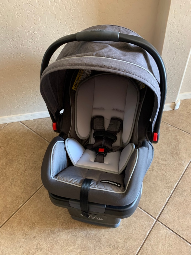 Photo Brand New Graco SnugRide SnugLock 35 Infact Carrier Carseat