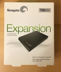 Seagate 750 GB Expansion Drive Fairfax, 22032