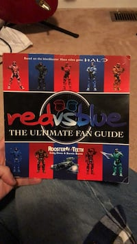 Red vs blue book  Brampton, L6R 1Z7