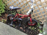 Bicycle for toddlers and pre-schoolers